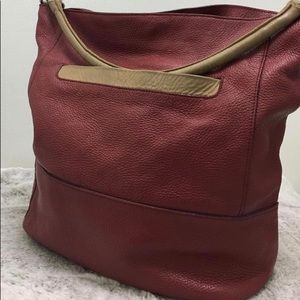 Furla Genuine Leather Red Bag